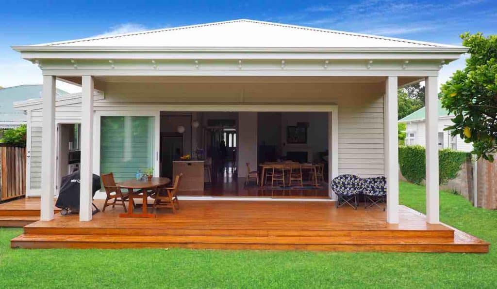 Adding deck veranda